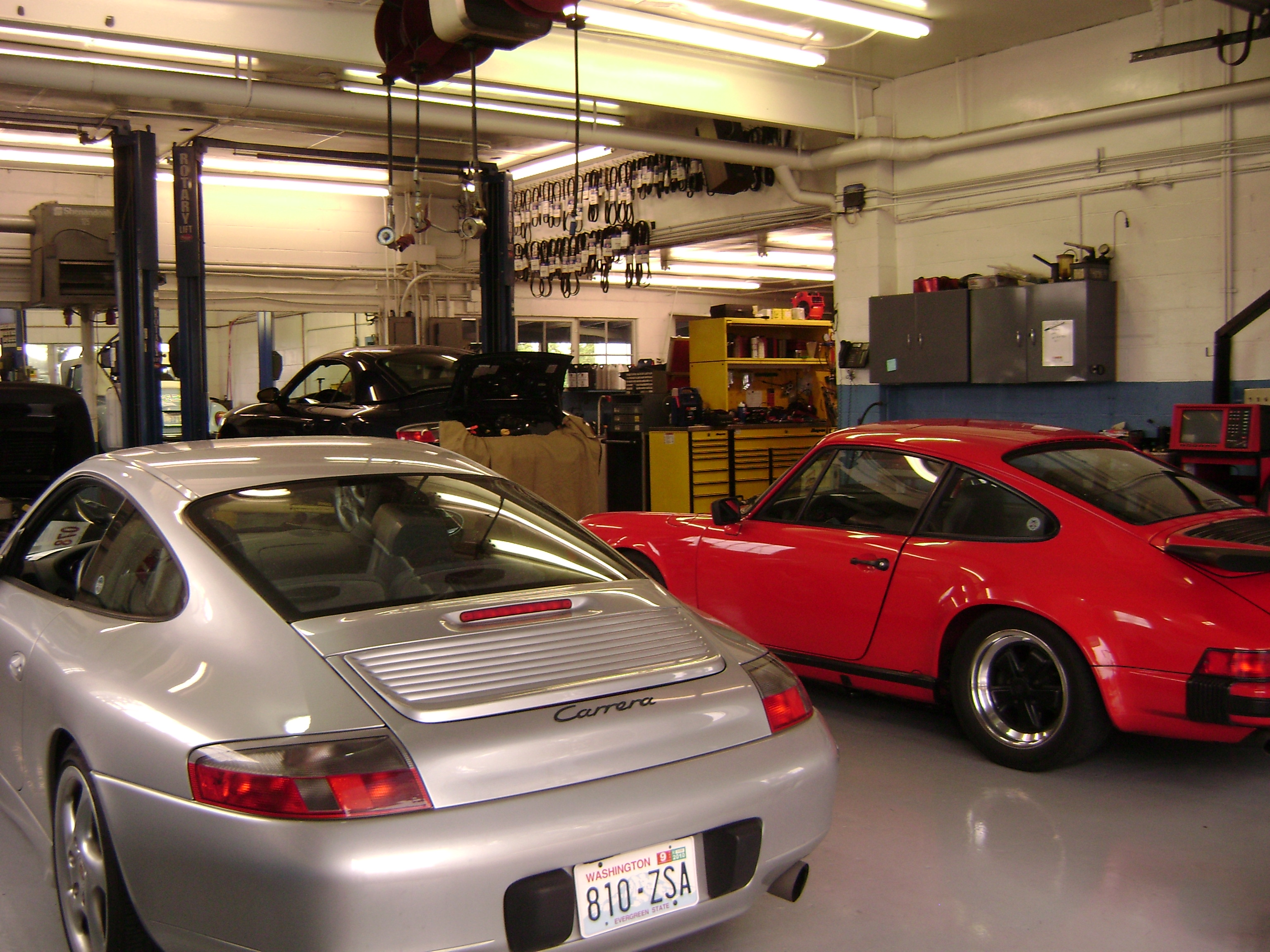 Porsche service & repair shop near Snohomish